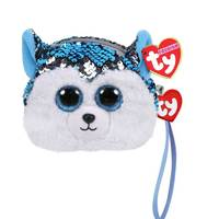Ty Fashion Sequin Dog Slush Wristlet