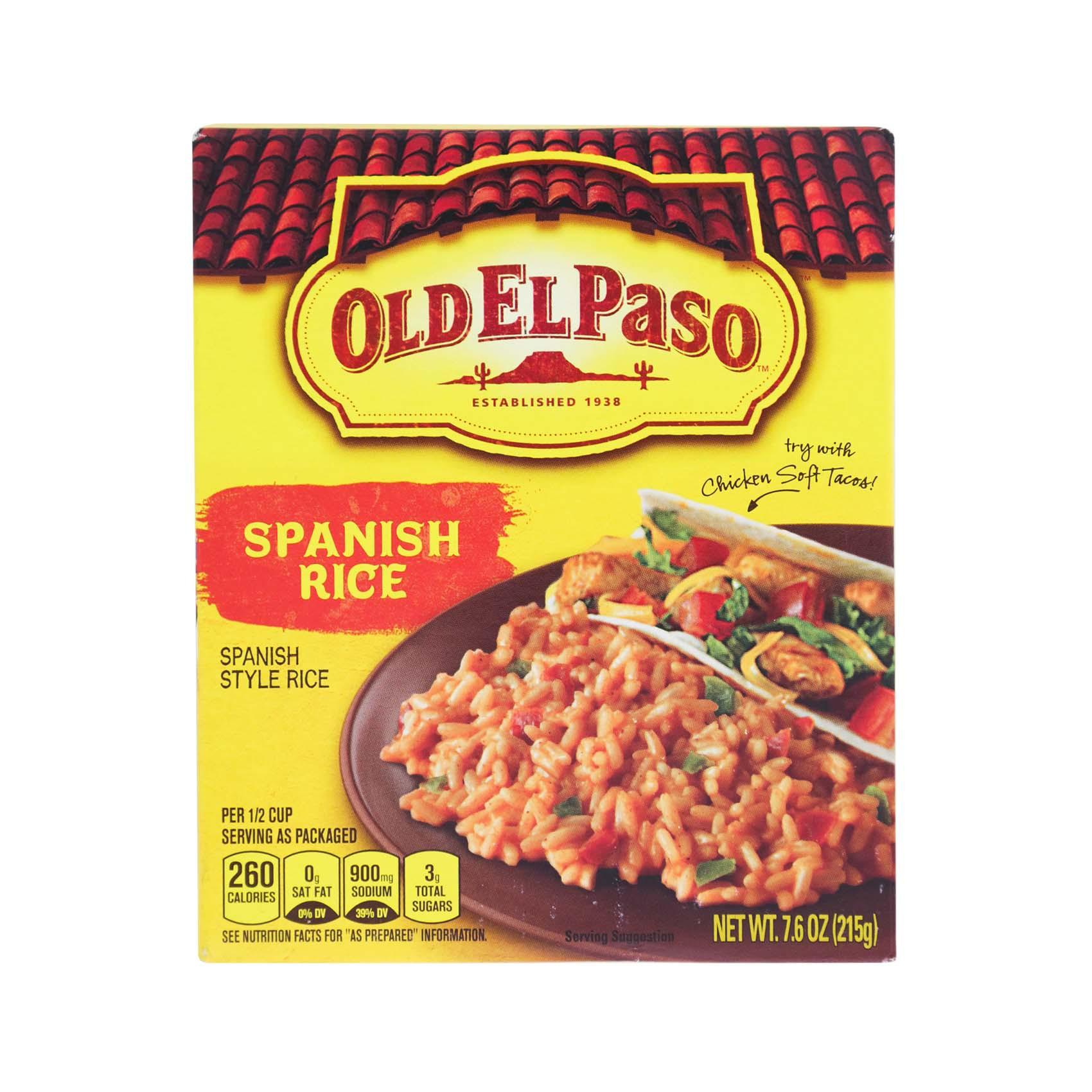 OEP SPANISH RICE 215GR