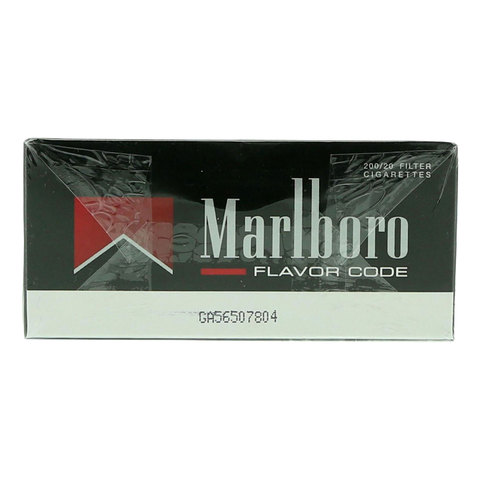 Marlboro-Flavor-Code-200/20-Cigarettes(Forbidden-Under-18-Years-Old)