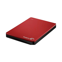 Seagate Backup Plus Portable External Hard Drive 2TB Red