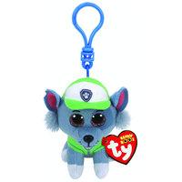 Ty Paw Patrol ROCKY - dog clip Plush Key Chain