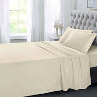 Tendance's Fitted Sheet King Ivory 198X203