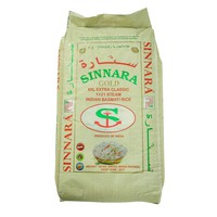 Sinnara Gold XXL Extra Classic 1121 Steam Indian Basmati Rice 20Kg