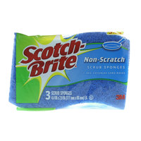 Scotch Brite Scrub Non- Scratch Sponges 3 Pieces