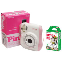 Fujifilm Instax Camera Mini 25 Pink + Instax Film Sheets