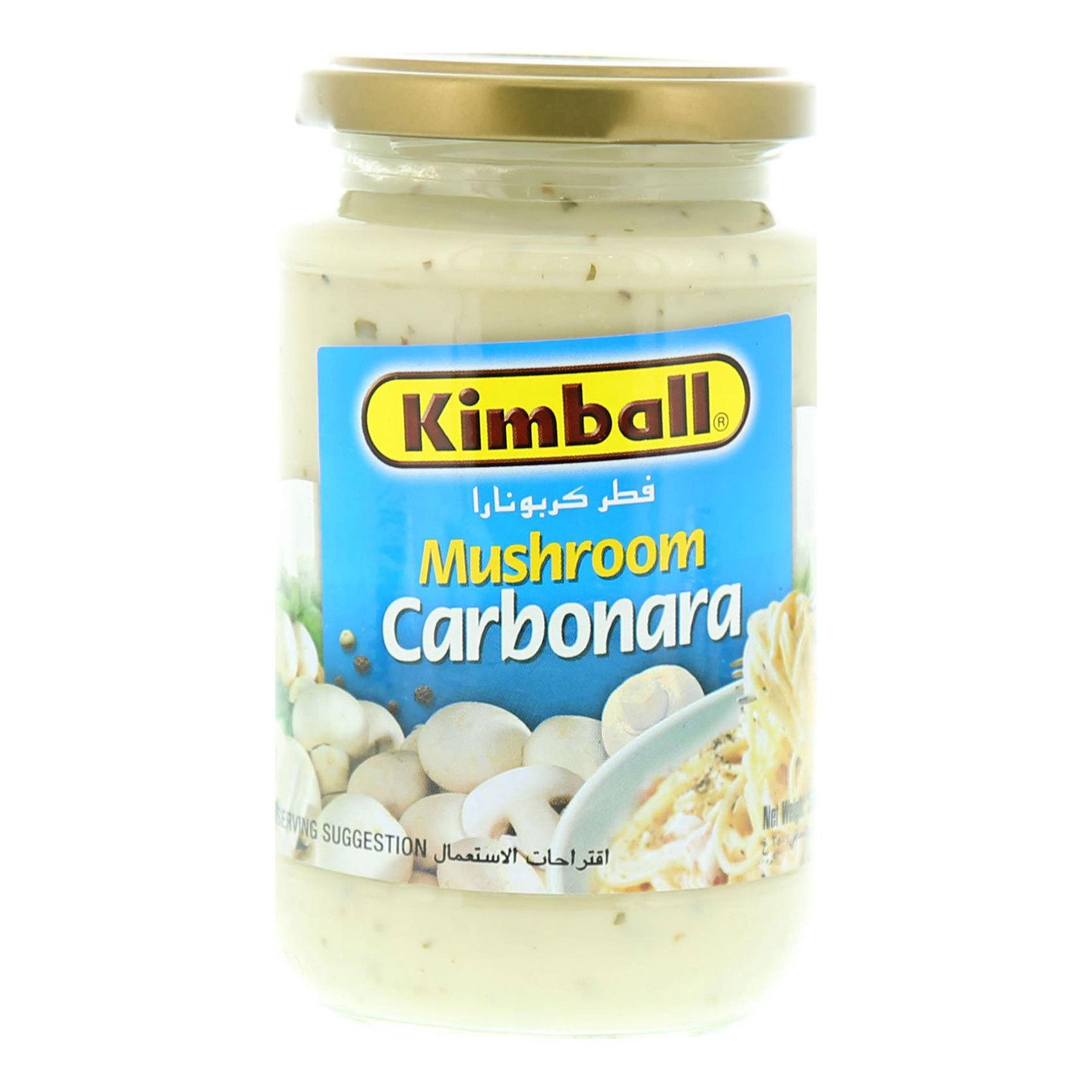 KIMBALL MUSHROOM CARBONARA SC 350G