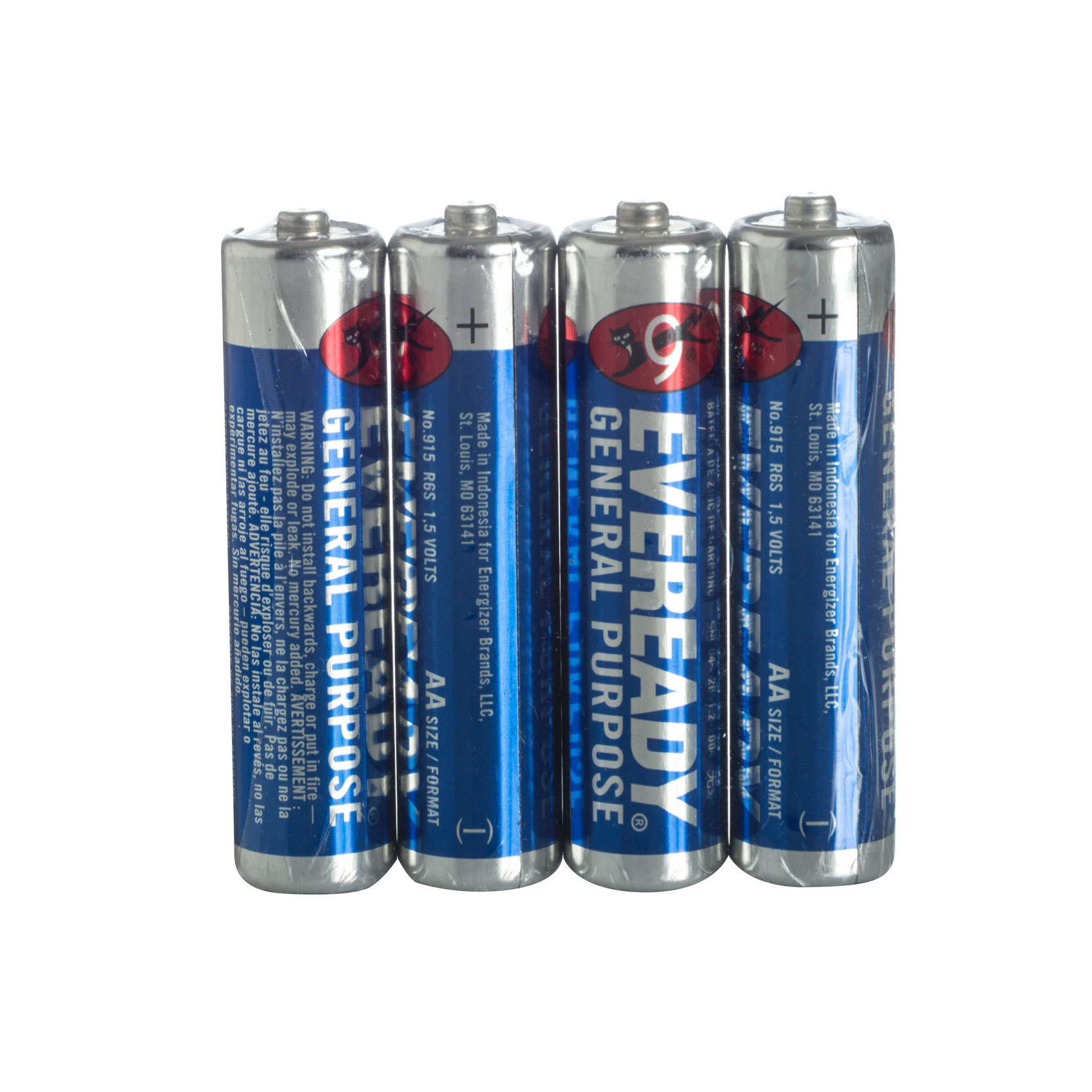 EVEREADY BATTERY AAX4 BLUE 915SW