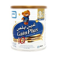Abbot Gain Milk Powder Plus IQ Plus 3 Powder Tin 400GR