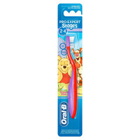 Oral-B Toothbrush Stages 2 - 4 Years Manual For Kids