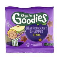 Organix Goodies Blackcurrant & Apple Stars 12g