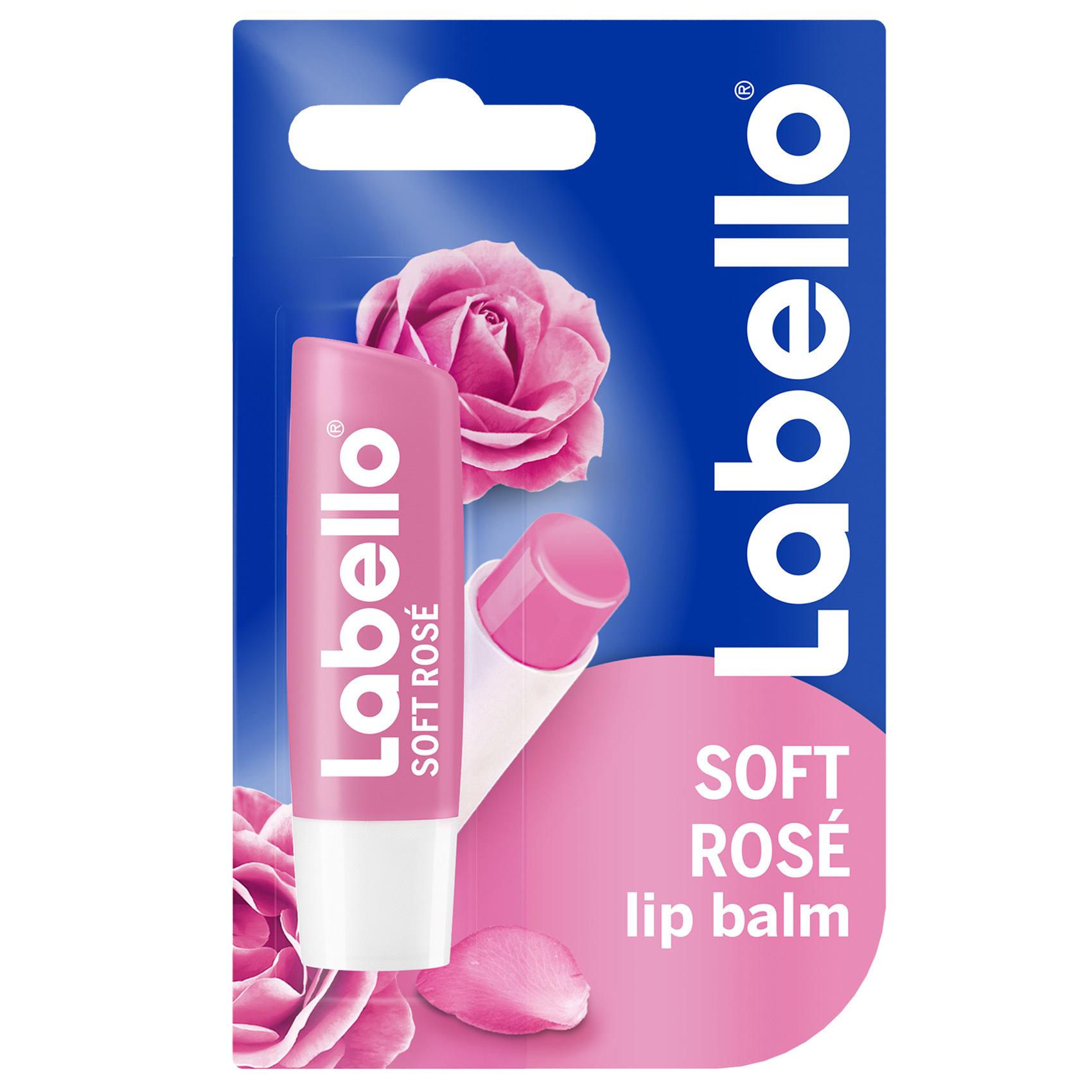 LABELLO LIPCARE ROSE 4.8GM