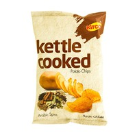 Kitco Kettle Cooked Potato Chips Arabic Spice 40g