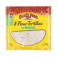 Old El Paso Tortilla 8 Flour For Burritos  311GR 8 Inch Diameter