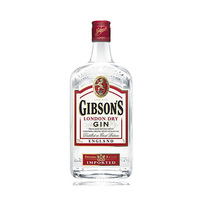 Gibson's London Dry Gin 37.5% Alcohol 1L