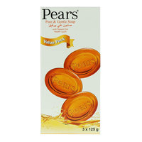 Pears Pure And Gentle Soap 3x 125g