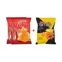 Master Chips Ketchup 90GR X2 + Tortilla 100GR