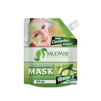 Mudway Nourshing Mask For Face With Cucumber 200 Gram