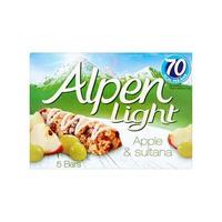 Alpen Bar Light Apple & Sultana 21GR X 5