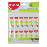 Maped Eraser Technic600 12Pcs Pb