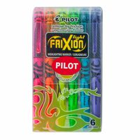 Pilot Frixion Highlighter SW-FL-S6 6pcs Assorted