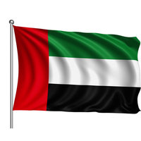 Uae Flag Cloth Big 140X90Cm