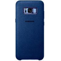 Samsung Case S8 Plus Alcantara Blue