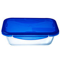 Pyrex Cook&Go Rect With Lid 1.7L