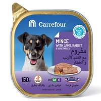 Carrefour Dog Food Mince with Lamb, Rabbit & Vegetables 150g