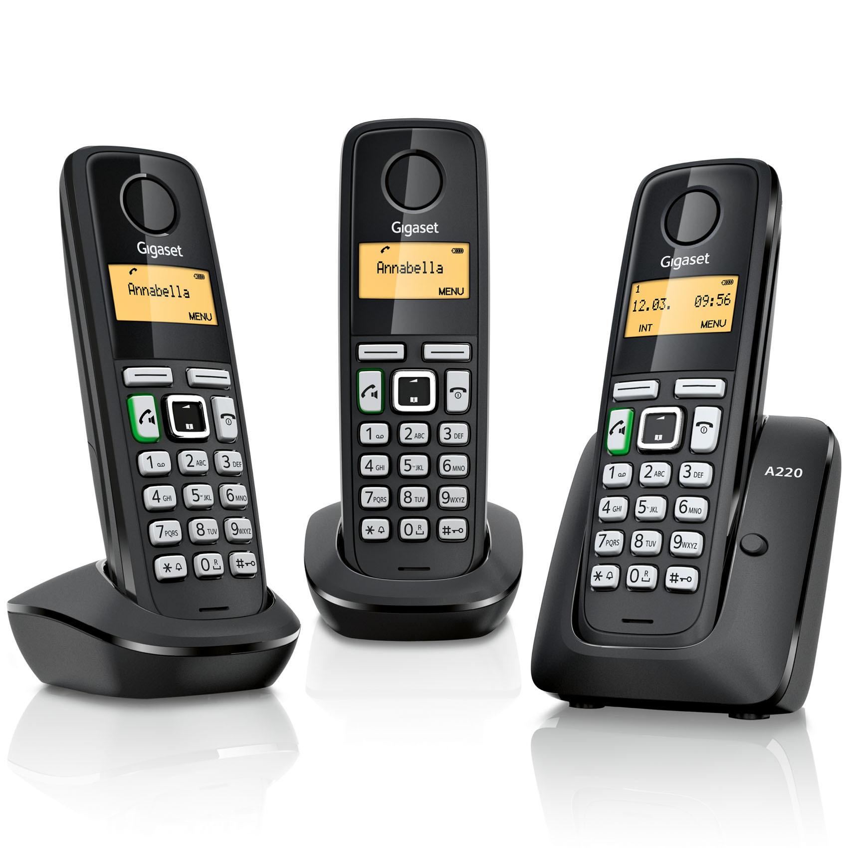 GIGASET A220TRIO DECT PHONE