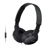Sony Headphone MdR-ZX110AP Black