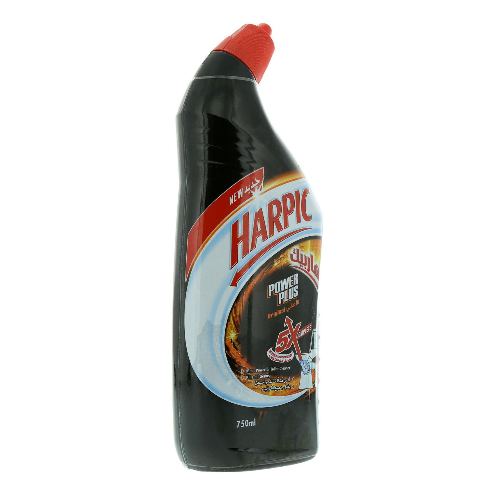 Buy Harpic Power Plus Original Toilet Cleaner 750ml Online in UAE ...