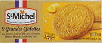 St. Michel Butter Bisucits Galettes with Sea Salt 150g