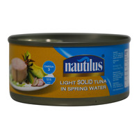 Nautilus Light Solid Tuna In Spring Water 170g