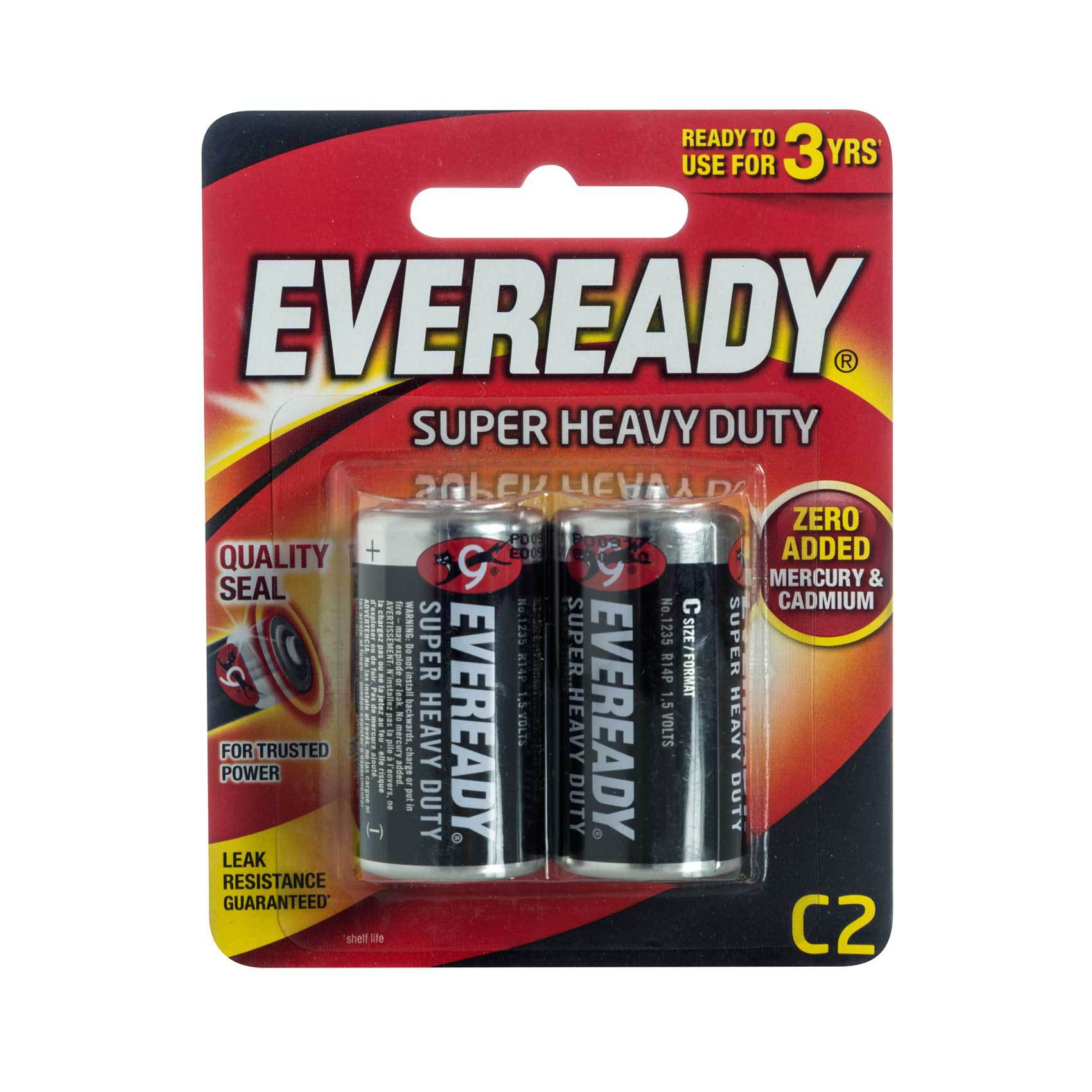 EVEREADY BATTERY CX2 BLACK