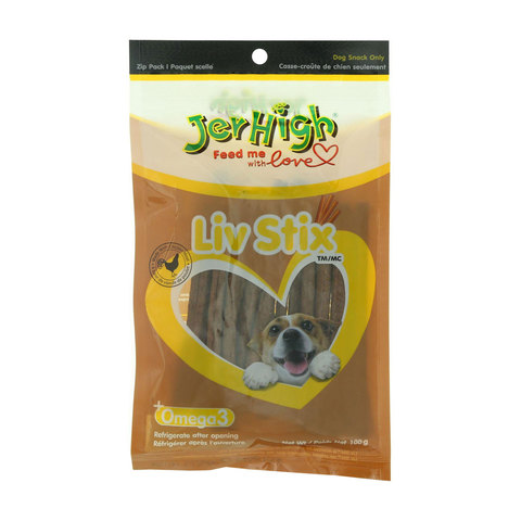 Jerhigh-Liv-Stix-100g