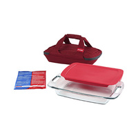 Pyrex Tupperware Set Cooler Bag