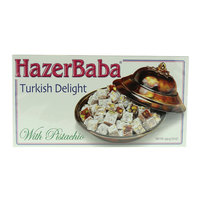 Hazer Baba Turkish Delight with Pistachio 454g