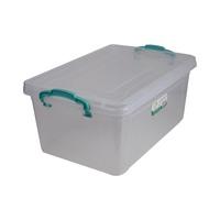 بولي تايم صندوق تخزين مستطيل متعدد الاستخدامات سعة 13.7 لتر