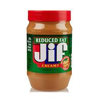 Jif Creamy Peanut Butter Reduced Fat 454GR