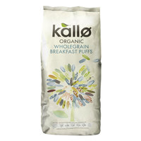 Kallo Natural Puffed Rice Cereal 225g
