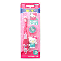 Dr. Fresh Sanrio Hello Kitty Soft Toothbrush With Cap & Toothbrush Buddy