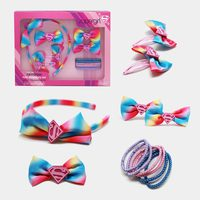 Supergirl - Rainbow Hair Accessory Set