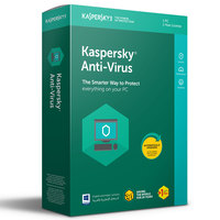 Kaspersky Antivirus 2018 1+1 User