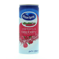 Ocean Spray Cranberry & Raspberry Juice Drink 250 ml