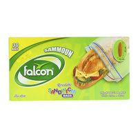 Falcon Sammoun Resealable 30 Sandwich Bags