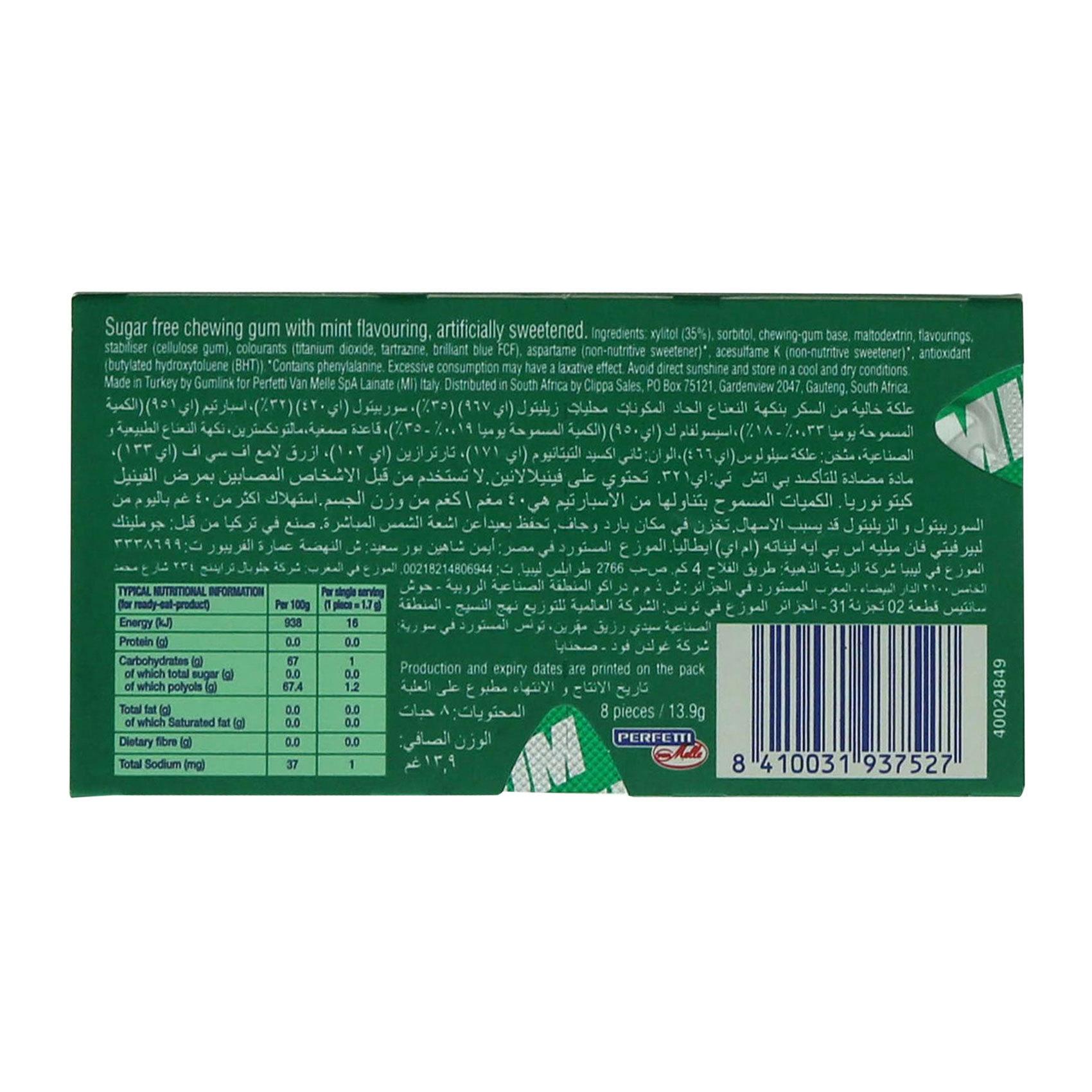 SMINT & GUM PEPPERMINT 14.2GR