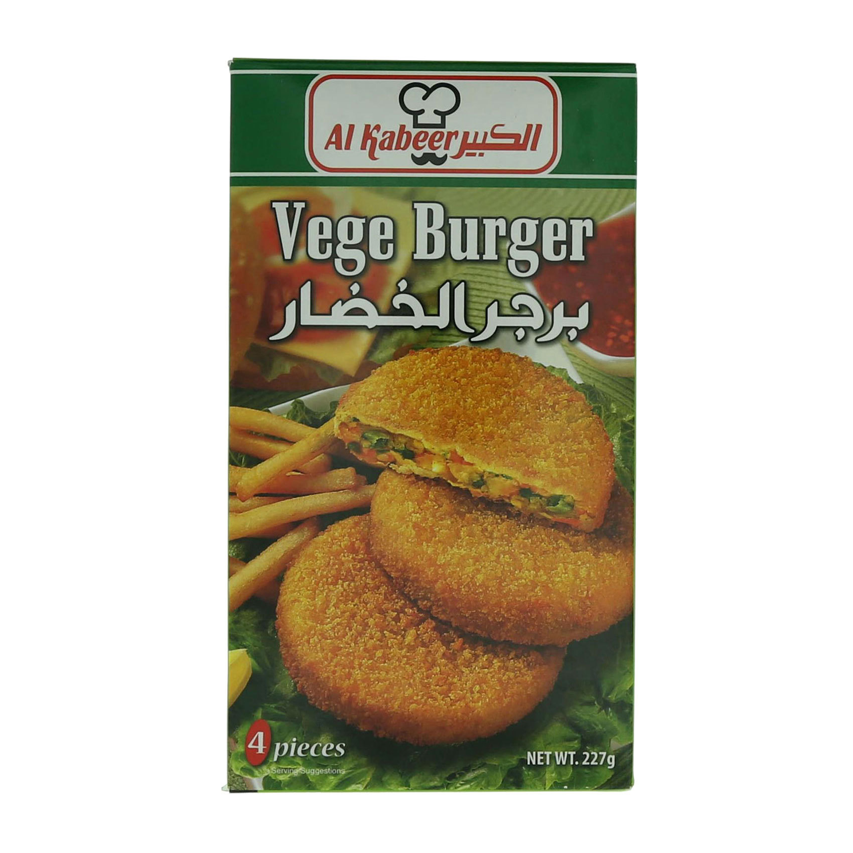 AL KABEER BURGER VEGETABLE 227G