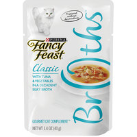 Purina Fancy Feast Broths Chicken & Vegetable 40g