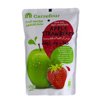 Carrefour Apple Strawberry Fruit Nectar 200ml