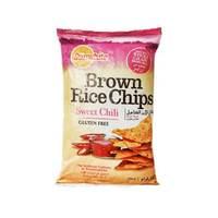 Sunwhite Chips Brown Rice Sweet Chili 156 Gram